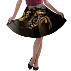 Fractal Mathematics Abstract A Line Skater Skirt