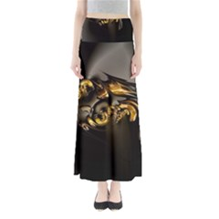 Fractal Mathematics Abstract Maxi Skirts
