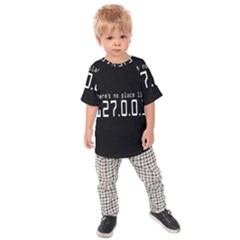 There s No Place Like Number Sign Kids  Raglan Tee