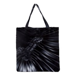 Fractal Mathematics Abstract Grocery Tote Bag