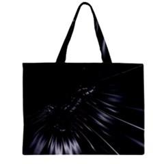 Fractal Mathematics Abstract Zipper Mini Tote Bag