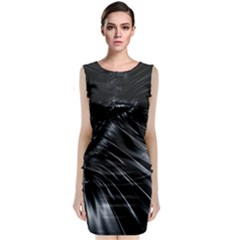 Fractal Mathematics Abstract Classic Sleeveless Midi Dress
