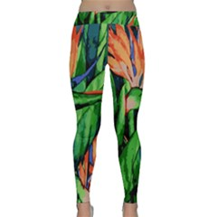 Flowers Art Beautiful Classic Yoga Leggings
