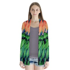 Flowers Art Beautiful Cardigans