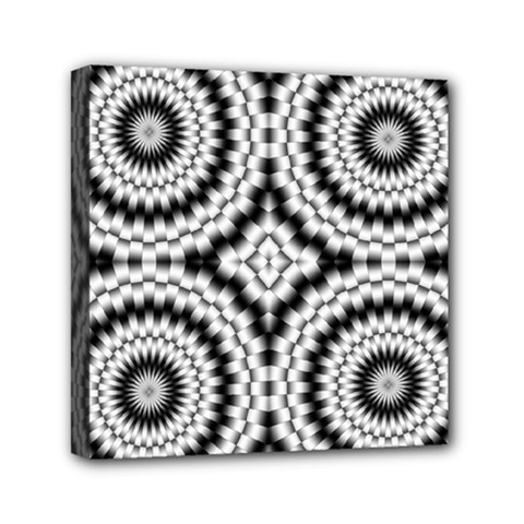 Pattern Tile Seamless Design Mini Canvas 6  X 6