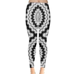 Pattern Tile Seamless Design Leggings