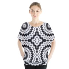 Pattern Tile Seamless Design Blouse