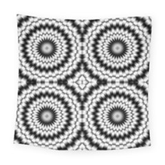 Pattern Tile Seamless Design Square Tapestry (large)