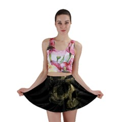 Skull Fantasy Dark Surreal Mini Skirt