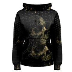 Skull Fantasy Dark Surreal Women s Pullover Hoodie