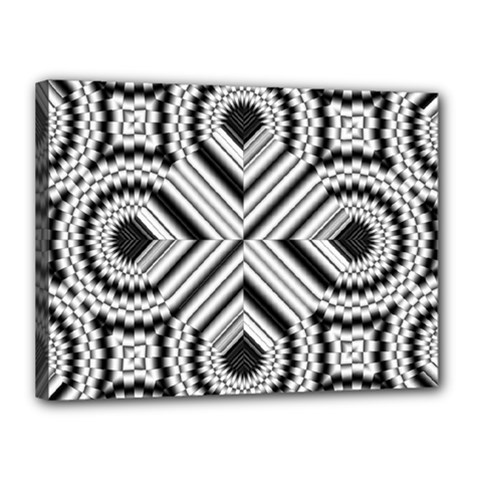 Pattern Tile Seamless Design Canvas 16  X 12