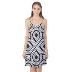Pattern Tile Seamless Design Camis Nightgown