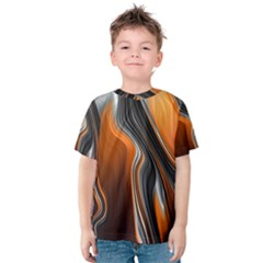 Fractal Structure Mathematic Kids  Cotton Tee