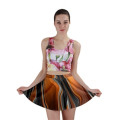 Fractal Structure Mathematic Mini Skirt