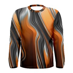 Fractal Structure Mathematic Men s Long Sleeve Tee