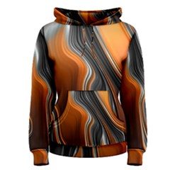 Fractal Structure Mathematic Women s Pullover Hoodie