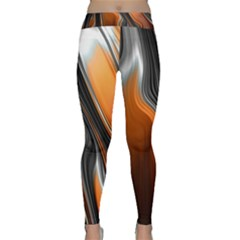 Fractal Structure Mathematic Classic Yoga Leggings
