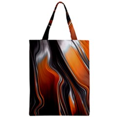 Fractal Structure Mathematic Zipper Classic Tote Bag