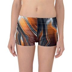 Fractal Structure Mathematic Boyleg Bikini Bottoms
