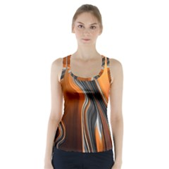 Fractal Structure Mathematic Racer Back Sports Top