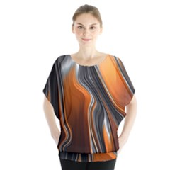 Fractal Structure Mathematic Blouse