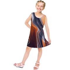 Fractal Structure Mathematic Kids  Tunic Dress
