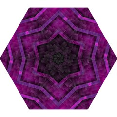 Purple Background Wallpaper Motif Design Mini Folding Umbrellas