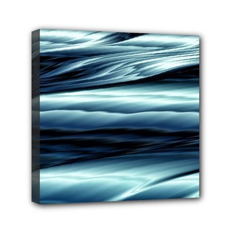 Texture Fractal Frax Hd Mathematics Mini Canvas 6  X 6