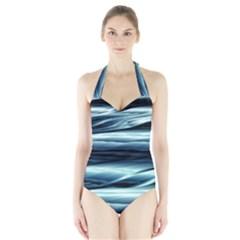 Texture Fractal Frax Hd Mathematics Halter Swimsuit