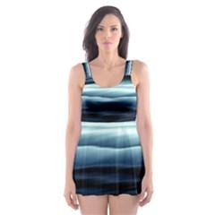 Texture Fractal Frax Hd Mathematics Skater Dress Swimsuit