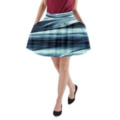 Texture Fractal Frax Hd Mathematics A Line Pocket Skirt