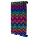Wave Chevron Rainbow Color Apple iPad 3/4 Hardshell Case (Compatible with Smart Cover) View3