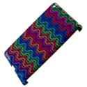 Wave Chevron Rainbow Color Apple iPad 3/4 Hardshell Case (Compatible with Smart Cover) View4