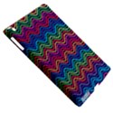 Wave Chevron Rainbow Color Apple iPad 3/4 Hardshell Case (Compatible with Smart Cover) View5