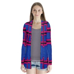 Broom Stick Gold Yellow Pink Blue Plaid Cardigans