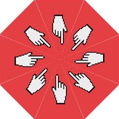Cursor Index Finger White Red Golf Umbrellas