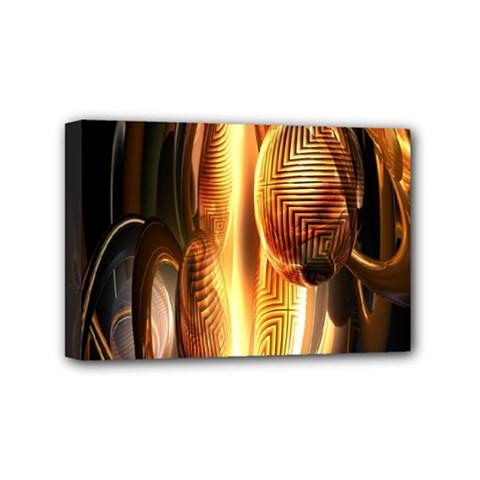 Digital Art Gold Mini Canvas 6  x 4