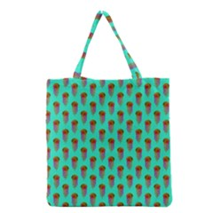 Jellyfish Large Grocery Tote Bag