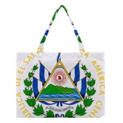 Coat of Arms of El Salvador Medium Tote Bag
