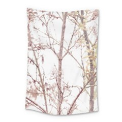 Textured Nature Print Small Tapestry