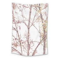 Textured Nature Print Large Tapestry