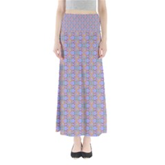 Tropical Fish Blue Maxi Skirts