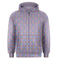 Tropical Fish Blue Men s Zipper Hoodie