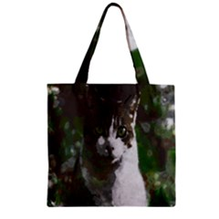 Camouflage Zipper Grocery Tote Bag