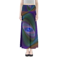 Ellipse Fractal Computer Generated Maxi Skirts