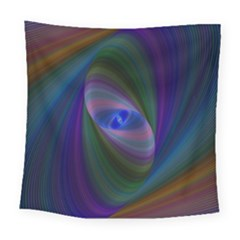 Ellipse Fractal Computer Generated Square Tapestry (large)