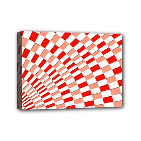 Graphics Pattern Design Abstract Mini Canvas 7  X 5