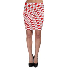 Graphics Pattern Design Abstract Bodycon Skirt