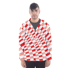 Graphics Pattern Design Abstract Hooded Wind Breaker (men)