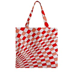 Graphics Pattern Design Abstract Zipper Grocery Tote Bag